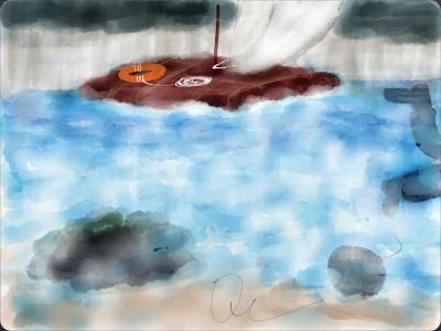 A qCanvas Original: Raft vs. Millstone
